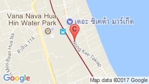 My Resort huahin location map