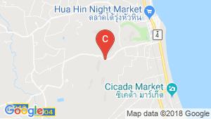 The Peak Hua Hin location map
