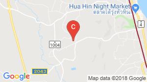 Land for sale in Hua Hin, Prachuap Khiri Khan location map