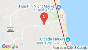 The 88 condo hua hin location map