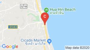 Intercontinental Residence Hua Hin location map