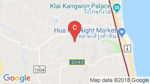 Hua Hin Grand Hills location map