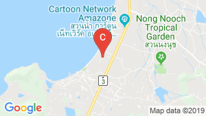 Costa Well Resort Pattaya location map
