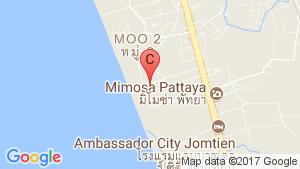BluPhere Pattaya location map