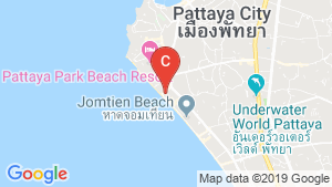 Jomtien Plaza Condotel location map