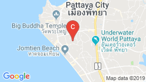 The Ivy Jomtien location map