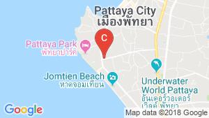 แผนที่สถานที่ T.W. Palm Resort Pattaya