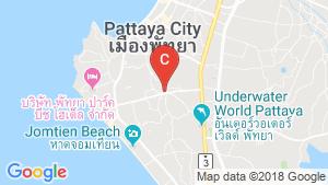 Marina Golden Bay Pattaya location map