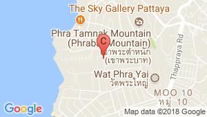แผนที่สถานที่ ซี วิว เรสซิเดนซ์ พัทยา (C View Residence Pattaya)