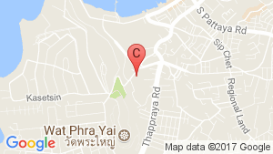 Unixx South Pattaya location map