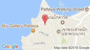 แผนที่สถานที่ รอยัล บีช คอนโดเทล พัทยา (Royal Beach Condotel Pattaya)