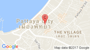 The Urban Pattaya location map