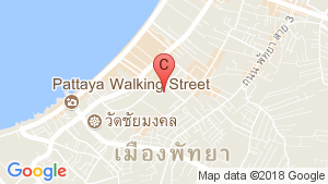 Pattaya Bay Resort location map