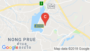 Land for sale in East Pattaya, Chonburi location map