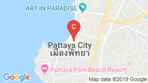 The Base Central Pattaya location map
