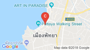 แผนที่สถานที่ Edge Central Pattaya