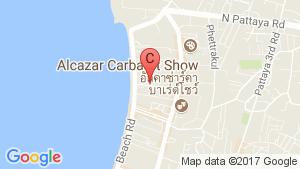 Pattaya Tower location map