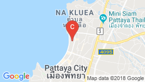 Mike Orchid Resort Pattaya location map