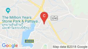 The Vineyard Pattaya location map