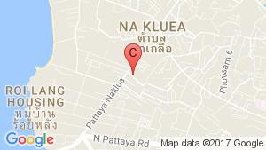 Golden Pattaya Condominium location map