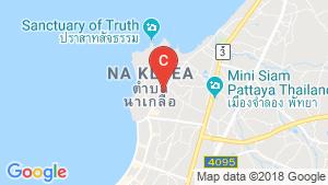 Lumpini Ville Naklua - Wongamat location map