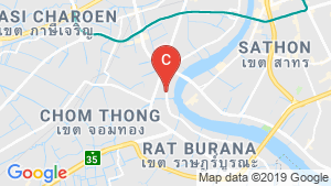 Niche Mono Charoen Nakorn location map