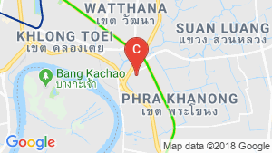2 Bedroom Apartment for rent in Bang Chak, Bangkok near BTS On Nut location map