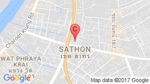 Shophouse for sale in Yan Nawa, Bangkok near BTS Chong Nonsi location map