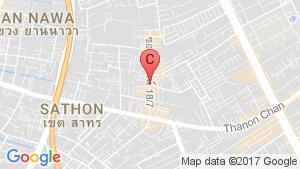 Knightsbridge Prime Sathorn location map