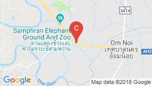 Warehouse / Factory for sale in Om Yai, Nakhon Pathom location map