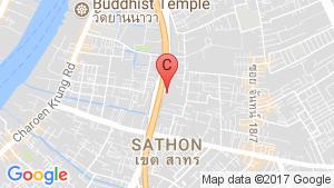 Blossom Condo @ Sathorn-Charoenrat location map