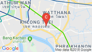 1 Bedroom Condo for sale in The Room 38, Phra Khanong, Bangkok near BTS Phra Khanong location map