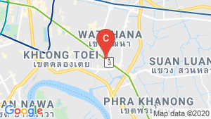 Mulberry Grove Sukhumvit location map