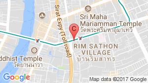 The Bangkok Sathon location map