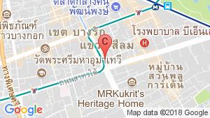 แผนที่สถานที่ สาธรนคร ทาวเวอร์(Sathorn Nakorn Tower)