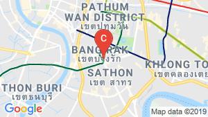 Quad Suites Silom location map