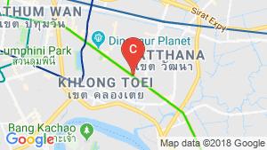 แผนที่สถานที่ The Strand Thonglor