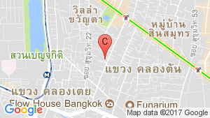 Krungthep Thani Tower location map