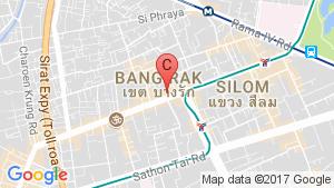5 Bedroom Shophouse for sale in Maha Phruettharam, Bangkok location map