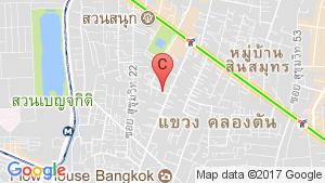 Casa 24 location map