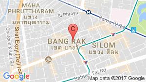 M Silom location map