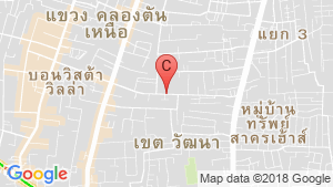Charoenjai place location map