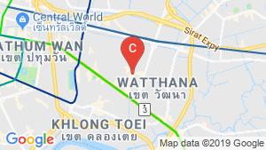 แผนที่สถานที่ Centre Point Thong Lo