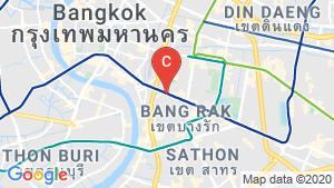 แผนที่สถานที่ พาร์ค ออริจิ้น จุฬา-สามย่าน