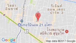 Baan Saraan location map