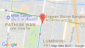 1 Bedroom Apartment for rent in Lumpini, Bangkok near BTS Chit Lom location map