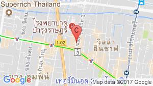 1 Bedroom Condo for sale in The Rich Nana, Khlong Toei Nuea, Bangkok location map