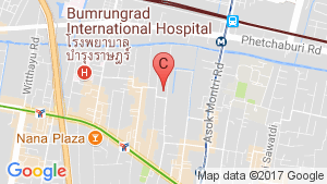 Urbana Sukhumvit 15 location map