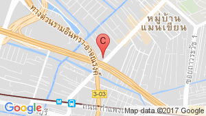 The Base Rama 9 - Ramkhamhaeng location map