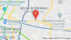 Siamese Rama 9 location map